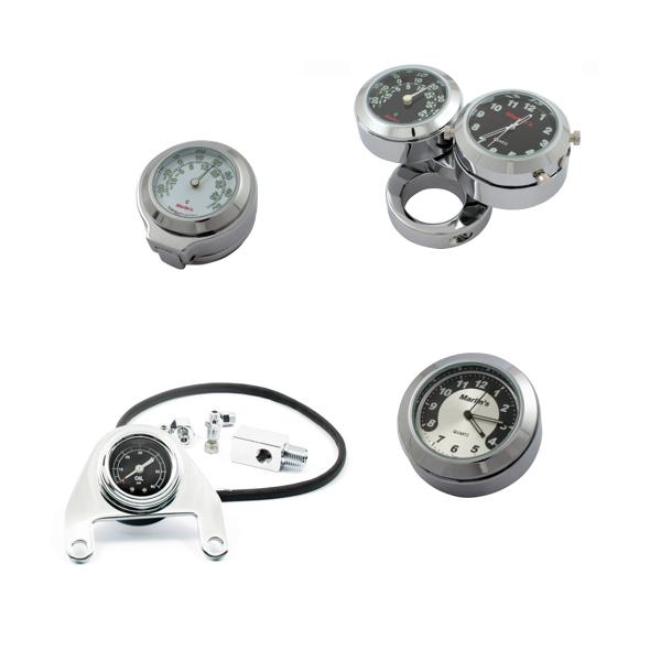 Zegarki, termometry, wskaźniki