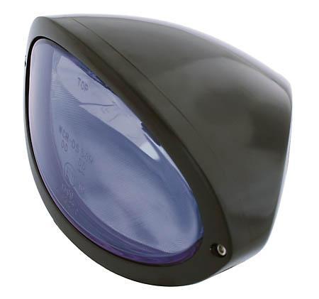 IOWA OVAL HEADLAMP - Lampa przednia z postojówką (Uniwersalna) do Harley Davidson